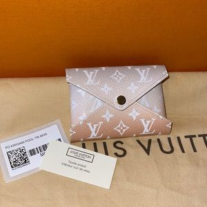 Authentic Louis Vuitton by the pool mist kirigami